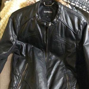 Pleather Express jacket